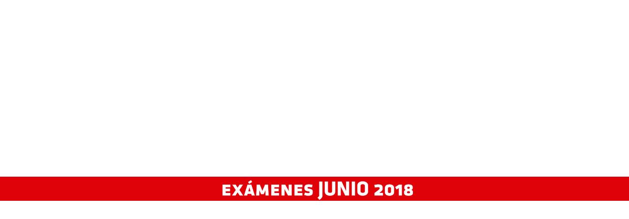 Exámenes Mayo 2018
